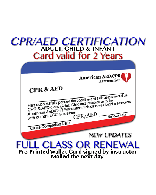 AEDCPR Online CPR Certification - Online Courses