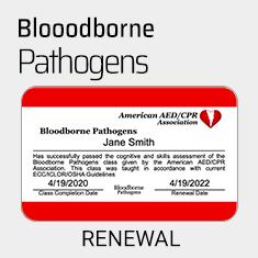OSHA Bloodborne Pathogens Renewal Course