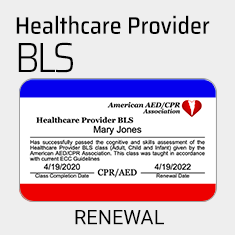 Renew your CPR Certification