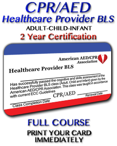 Healthcare Provider BLS Course