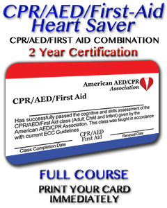 CPR/AED/First Aid