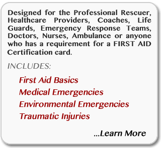 Learn more about online Basic First-Aid certification and recertification