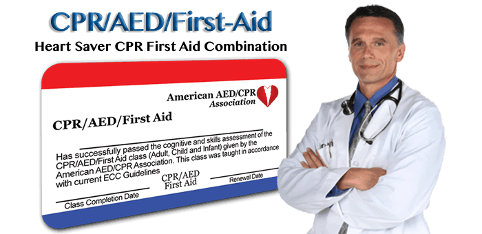 Online CPR/AED/First-aid certification training and renewal classes
