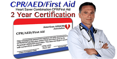 Online CPR, AED, First Aid Certification Class
