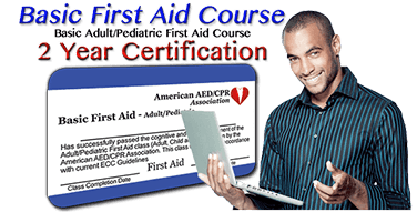 Online Adult/Pediatric First Aid Certification Class