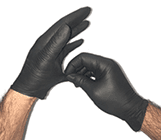 Non-laytex gloves used as Personal Protective Equipment or PPE