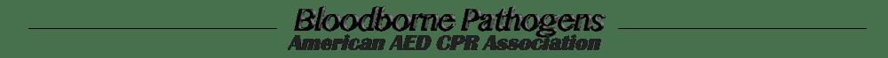 Online Bloodborne Pathogens Certification and Renewal