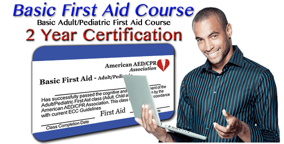 2 Year Certification - Online First Aid Course - Shock and Injuries