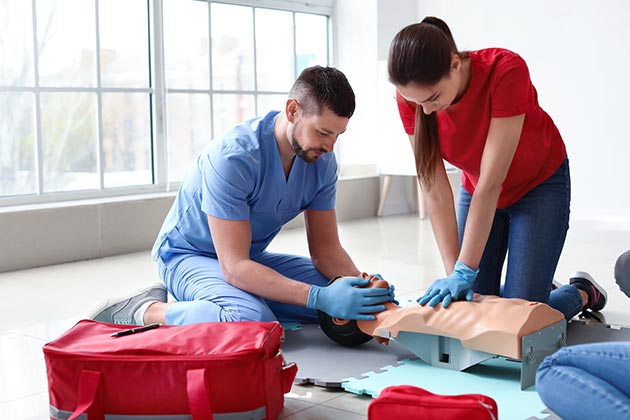 Online CPR AED First Aid Class