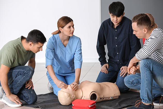 Online Healthcare Provider BLS Class