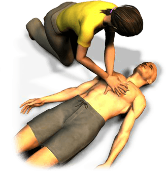 If the victim is not breathing and has no pulse, begin CPR. After 5 cycles of 30 compressions and 2 breaths, reassess the victim.