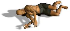 If the victim is breathing and has a pulse, place victim in the recovery position