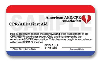 Free CPR/AED/First Aid Class