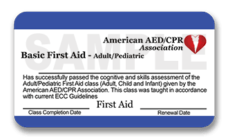 Free Firs Aid Class