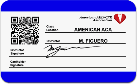 First Aid Card Back with E-Verify
